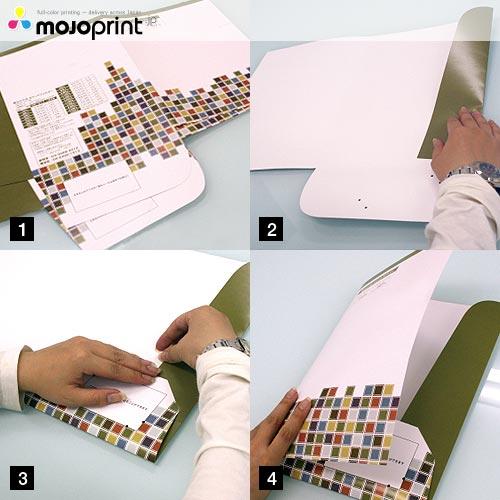 Self-Assembly Folders